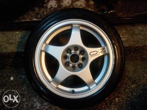 Alu felge OZ Crono Evo 16' Peugeot Citroen 4x108