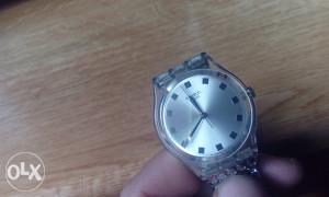 sat swatch zenski sa cirkonima orginal kao nov