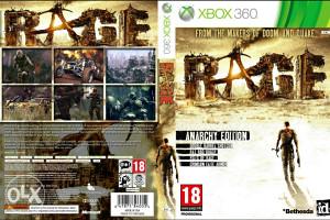 RAGE XBOX 360 IGRA IGRICA 3 DVD