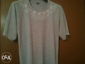 siva majica xxl