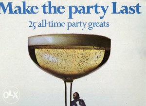 JAMES LAST-MAKE THE PARTY LAST lp