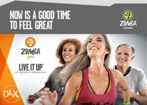 Zumba - Gold: Live It Up - DVD