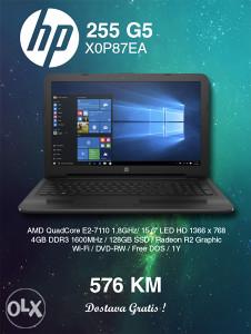 "LAPTOP HP 255 G5 X0P87EA 15,6"""