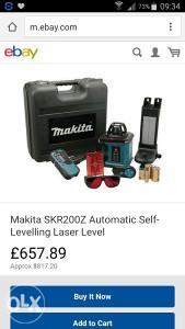 Makita Laser SKR200