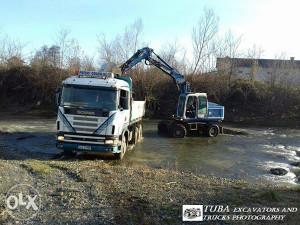 Scania 144c kiper troosovinac skanija