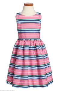 Krasna svečana haljinica Ralph Lauren.Broj 116