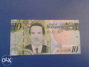Novčanice BOTSWANA--UNC