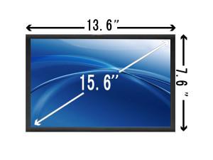 15.6 LED laptop Ekran