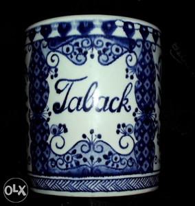 Delft Blau posuda za cigarete sa početka 20. vijeka