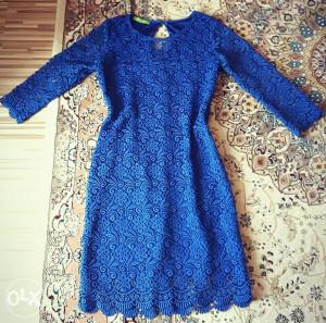 Čipkana haljina L vel