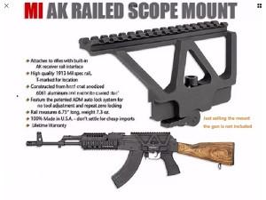Nosac optike AK47