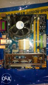 Gygabite GA-G31M-ES2C, procesor i cooler