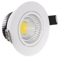 LED COB 5W bijeli 4200K ugradni