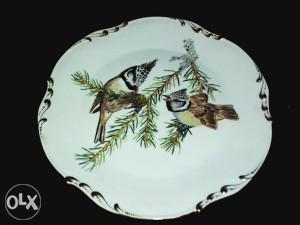 Limoges France tanjir, Francuski antikvarni porculan