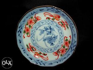 Ukrasni kineski tanjirić, antikvarni porculan
