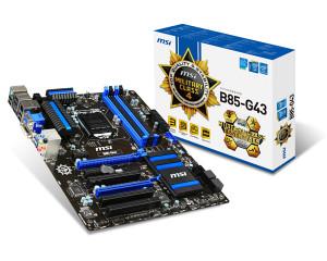 MSI Motherboard B85-G43 LGA1150 socket