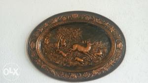 Starine antikviteti bakreni ukras slika