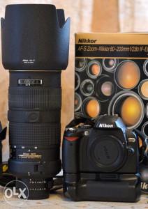 Nikon AF-S 80-200mm f/2.8D IF-ED +Nikon D40X