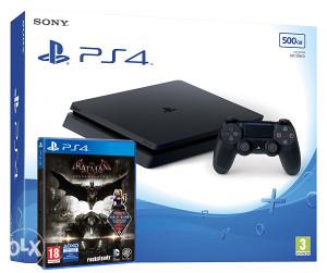 Sony PlayStation 4 500GB 2016A Batman Arkham Knight PS4