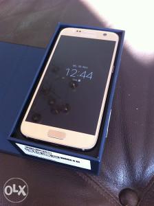 Samsung S7 Gold Platinum,32gb