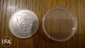 Srebrnjak TITO - 1000 dinara 1980