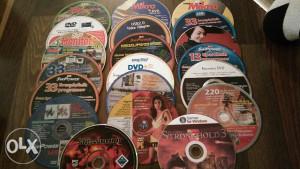 CD 20kom (antivirus, igre,aplikacije, programi itd..)