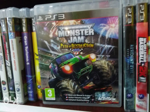 PS3 Monster Jam
