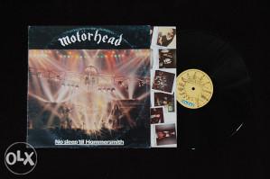 Motorhead - No sleep 'till hammersmith LP