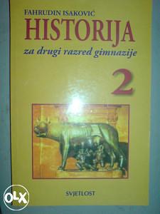 HISTORIJA za 2. RAZRED GIMNAZIJE