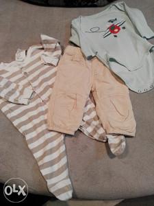 Odjeca za bebe  od 0-4 mj.