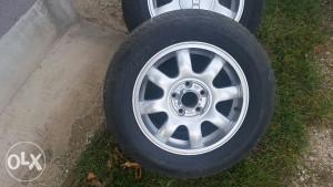 Alu felge Audi 15ke sa novim gumama