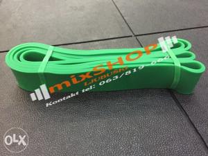 LATEX BAND 4,45cm TRAKA Rastezljive crossfit joga trake