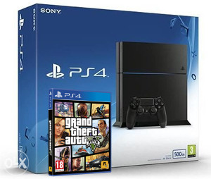 Sony PlayStation 4 500GB 1216A GTA 5 PS4
