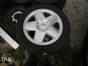 Feluge Aluminiumske reno renault R15 Gume Michelin