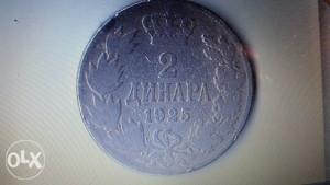 2 dinara 1925