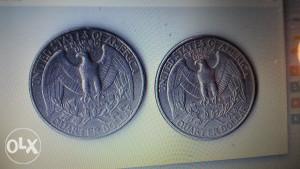 Quarter dollar SAD - 2 komada