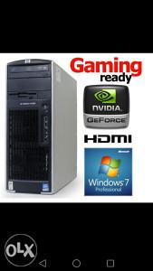 HP Xeon Quad 8GB RAM, 2GB GRAFIKA