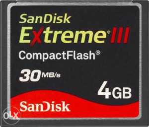 Sandisk cf kartica 4GB