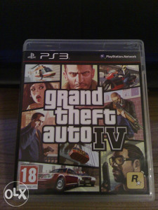 GTA IV GTA 4 ZA PS3