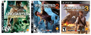 Uncharted 1, 2 i 3 za PS3 *KOLEKCIJA*