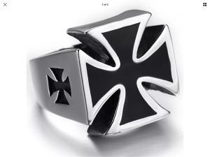 Muski prsten cross