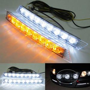 LED dnevno svjetlo i pokazivac smjera