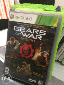 Gears of war tripple pack xbox 360 pal ntsc