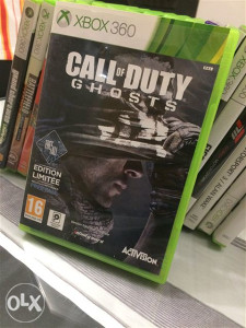 Call of duty ghosts xbox 360 pal