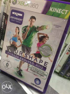 Your shape- fitness evolved kinect xbox 360