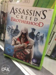 Assassins creed brothergood xbox 360