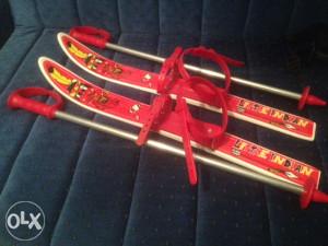 Skije i štapovi za djecu