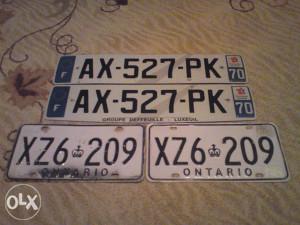 4 stare tablice samo 50 km