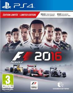 F1 2016 PS4 + Poklon Igra