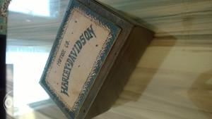 harley davidson kutija za cigare antikvitet